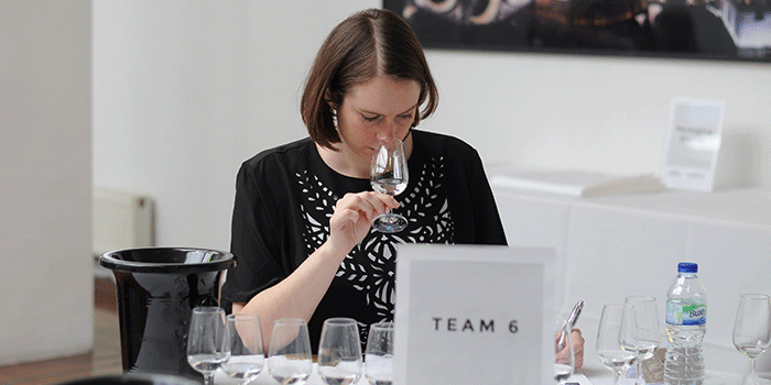 Judging at the London Spirits Competition