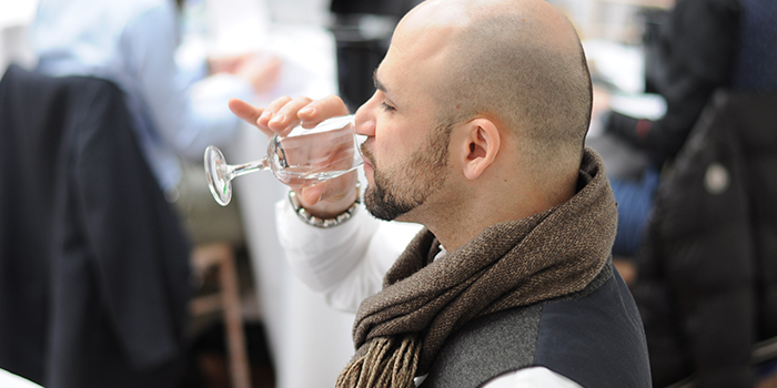 Judge at London Spirits Competition