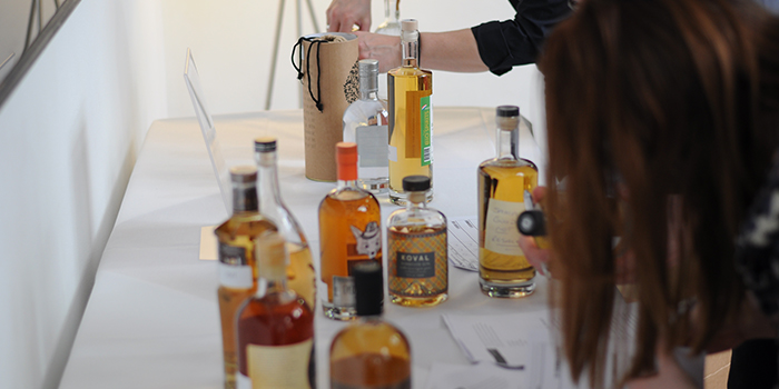 Packaging Display - London Spirits Competition