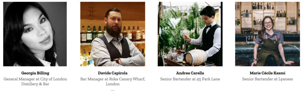 London Spirits Competition Judges