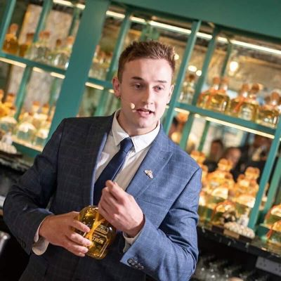 Kieran Grieves, Head of drinks development at the Cairn Hotel Group