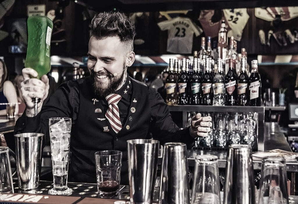TGI Friday's Gary Burdekin is one of the professional spirits buyers and bartenders who help judge the London Spirits Competition
