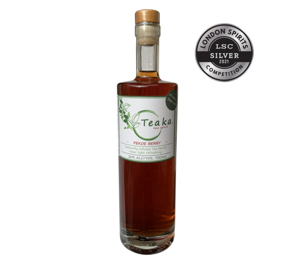 Teaka, producer of Teaka Tea Spirits, scores a Silver Medal at London Spirits Competition 2021