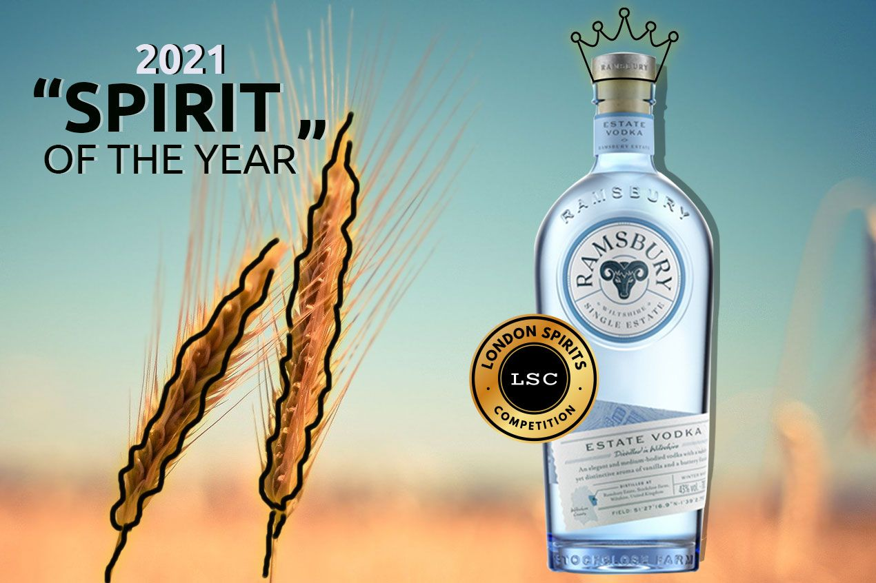 UK's Ramsbury Single Estate Vodka is the Best Spirit of 2021