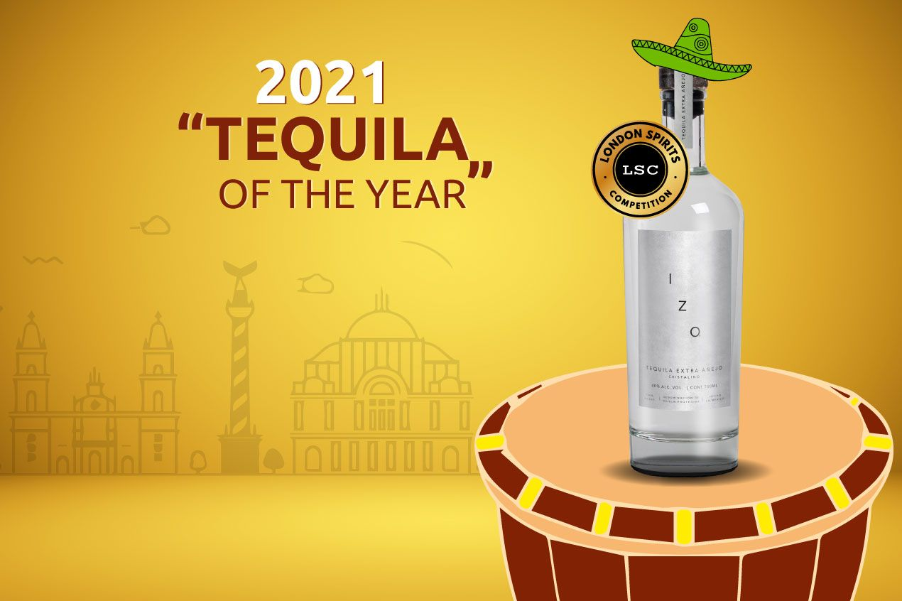 IZO Extra Añejo Cristalino is Tequila of the Year