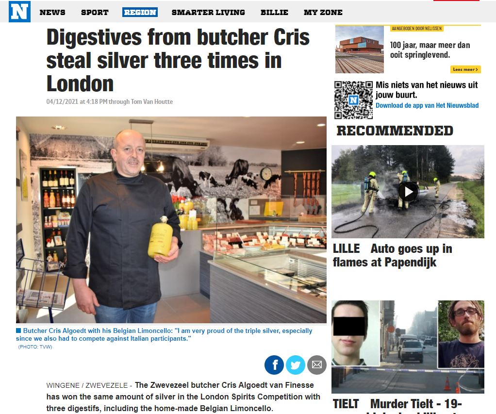 Digestives from butcher Cris steal silver three times in London