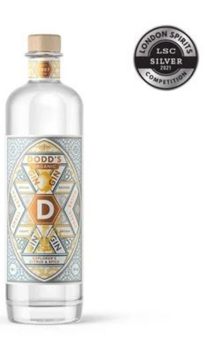 Image of Dodd's Explorer's Citrus & Spice Organic Gin