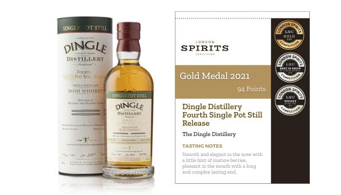 Dingle Distillery Fourth Single Pot Still Release