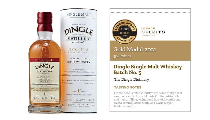 Dingle Single Malt Whiskey Batch No. 5