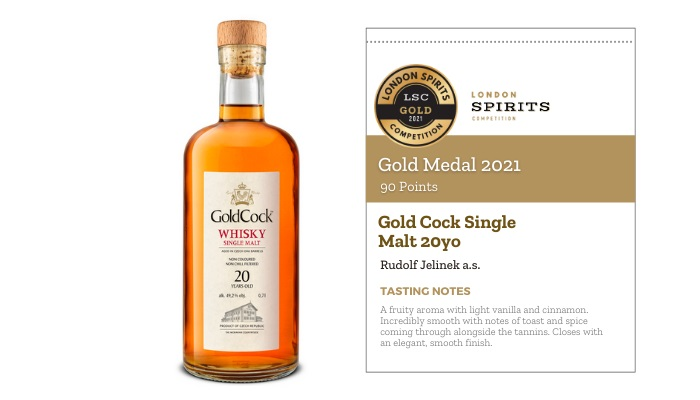 Gold Cock Single Malt 20yo