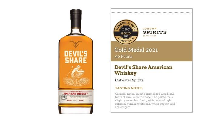 Devil's Share American Whiskey