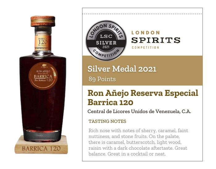 Ron Añejo Reserva Especial Barrica 120
