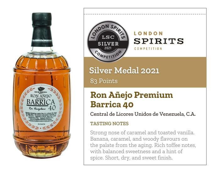 Ron Añejo Premium Barrica 40
