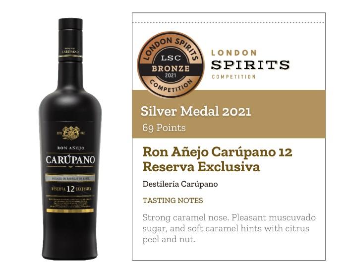 Ron Añejo Carúpano 12 Reserva Exclusiva