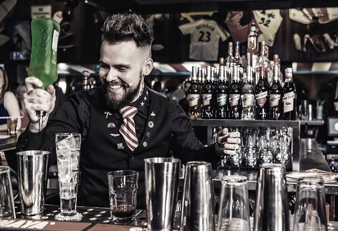 Gary Burdekin, master bartender at TGI Friday