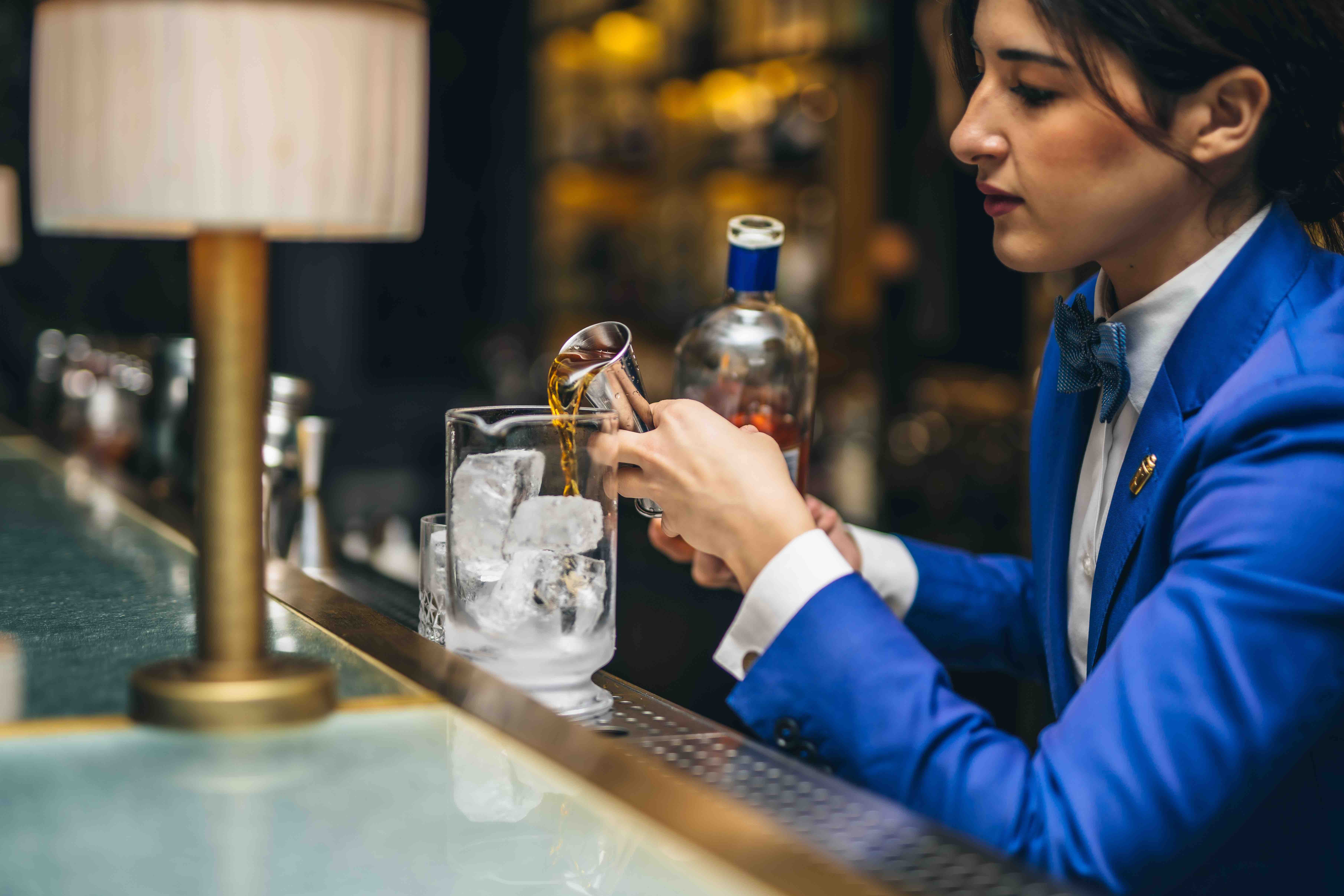 Cristiana Pirinu, bartender at The Donovan Bar