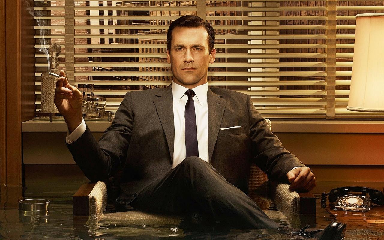 Dan Draper, the super cool, anti-hero of hit TV show Mad Men