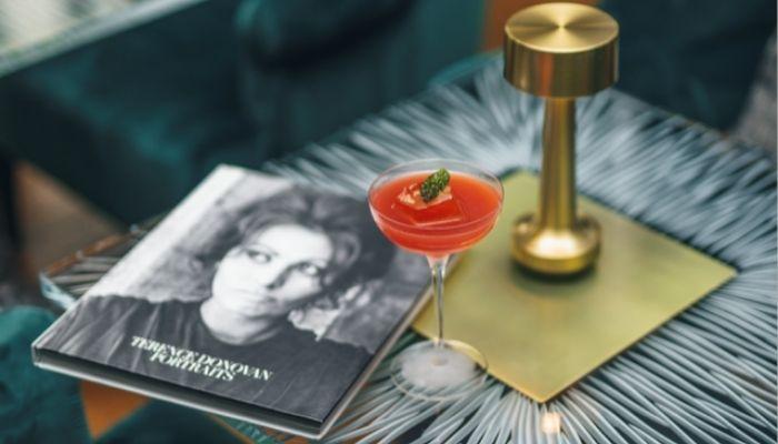 Sophia Loren – a rosy-hued cocktail