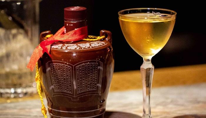 Baiju Drink and Glass