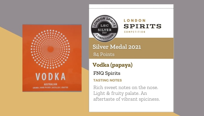 Vodka (papaya) by FNQ Spirits