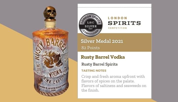 Rusty Barrel Vodka by Rusty Barrel Spirits