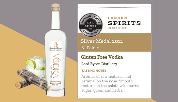 Gluten-Free Vodka by Lord Byron Distillery