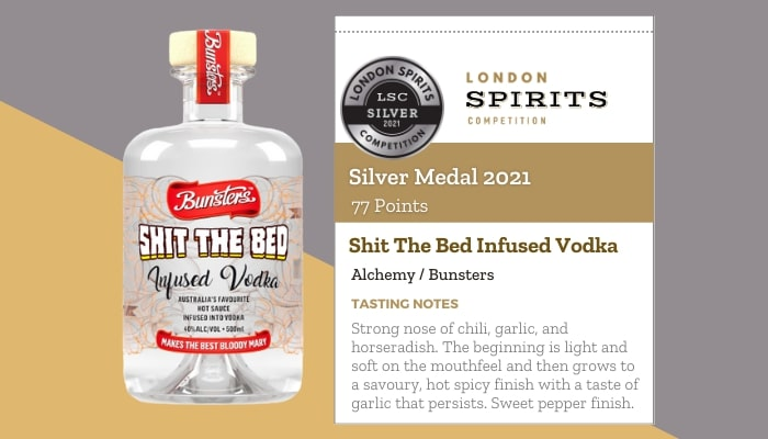 Shit The Bed Infused Vodka by Alchemy / Bunsters
