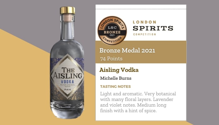 Aisling Vodka by Michelle Burns
