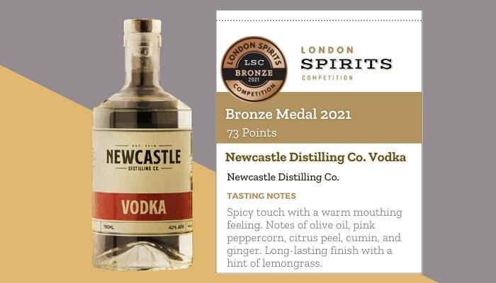 Newcastle Distilling Co. Vodka by Newcastle Distilling Co.