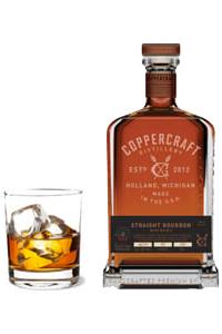 Straight Bourbon Whiskey Coppercraft Distillery